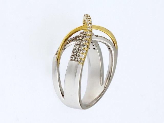 14KT Orbit Ring