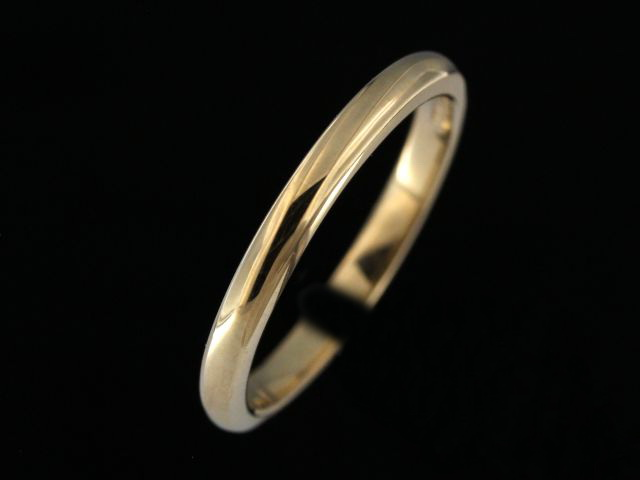 2.25 mm Gold Band