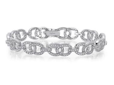 Interlocking Circles Bracelet