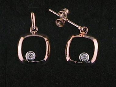 0.07ctw Diamond Earrings