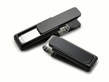 Black Anodized Money Clip