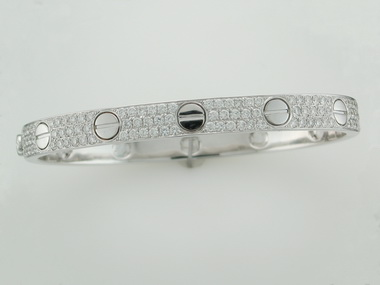 18kt Diamond Bangle 4.50 Cts