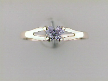 10ky June Butterfly Ring