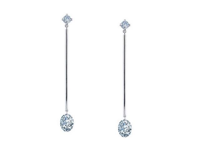 Oval Bar Earrings