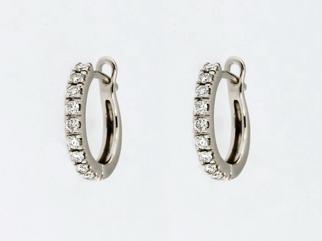 18 KT Spanish Back Earrings