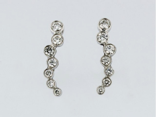 Tapered Bubbles Earrings