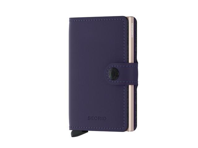 Secrid Wallet in Matte Purple