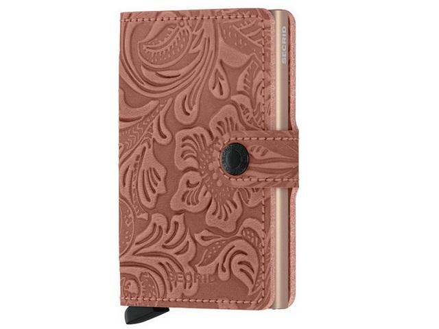 Ornament Rose Mini Wallet