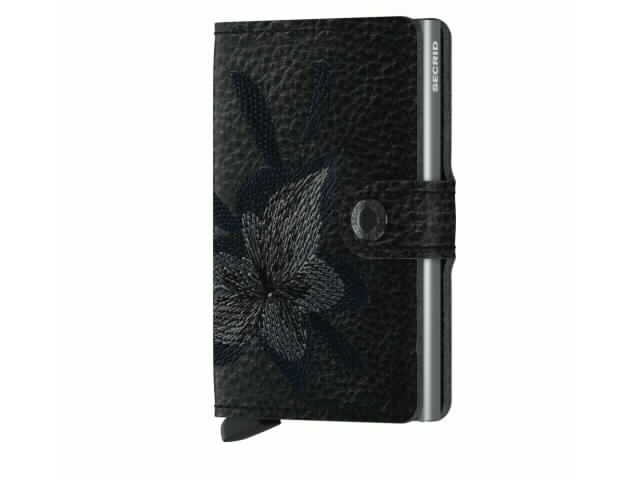 Secried Magnolia Wallet in Black