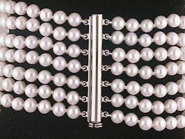 7 Strand Fw 5-5.5mm Bracelet