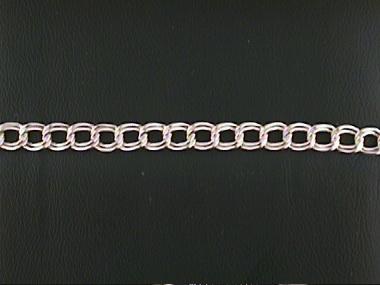 7 Inch Double Curb Bracelet