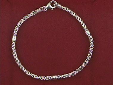 Silver Station Bracelet