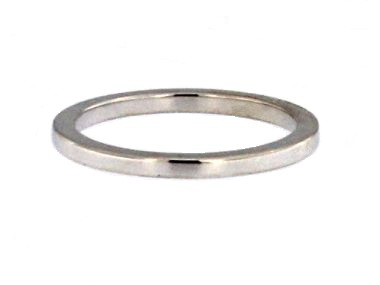 2.0 mm Wide Gold Band