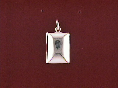 Silver Rectangular Locket