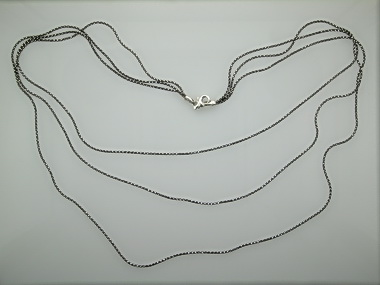 Black White Tiered Necklace