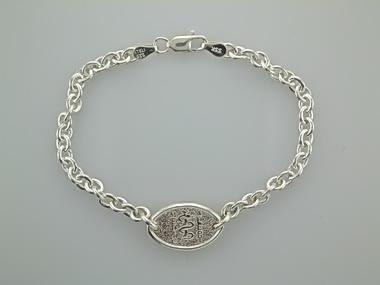 Silver Medic Alert Bracelet