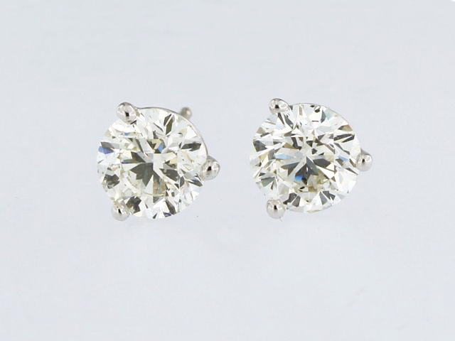2.01 ct Diamond Studs
