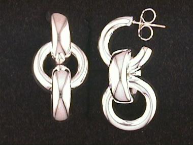 Thistle & Bee Rolo Earrings
