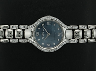 Beluga Mini Diamond Blk Mop Dial