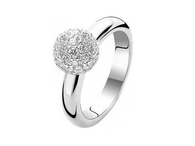 Cubic Sphere Ring