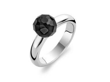 Onyx Sphere Ring