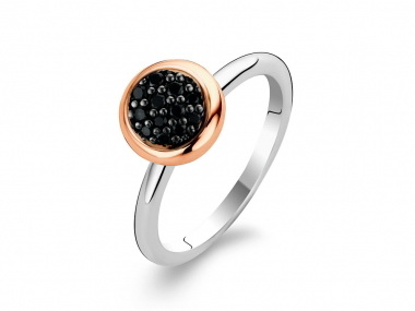 Syn Black Zircon Ring
