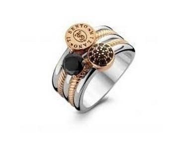 Black Zircon Ring