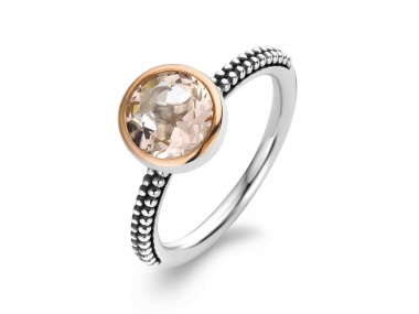 Pink Cubic Ring