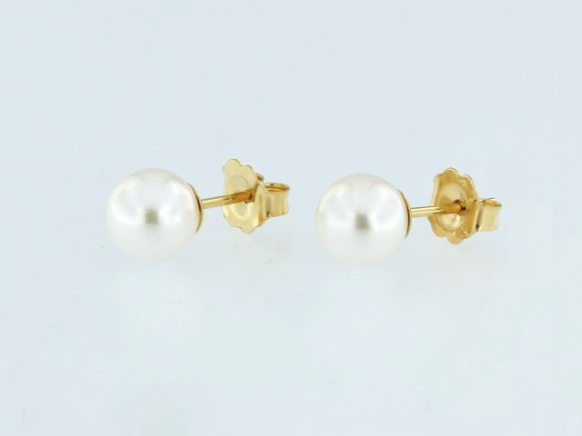 14KY Akoya Pearl Earrings