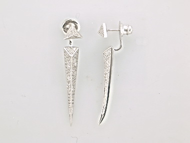 Two Part Dangle Earrings