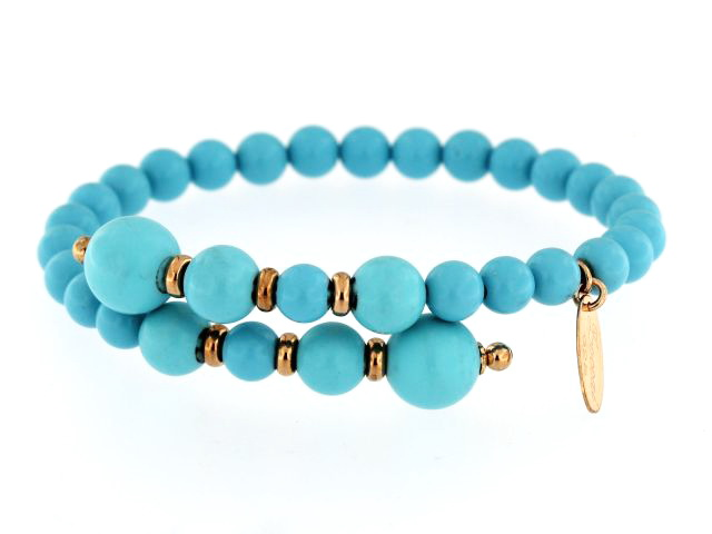 Bypass Turquoise Bracelet