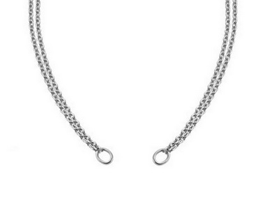 Double Silver Chain