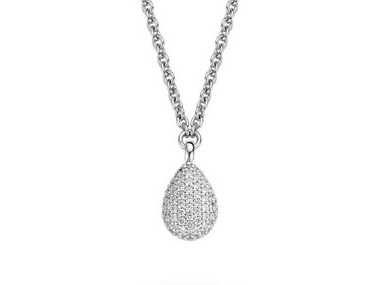 Pear Shaped Necklace