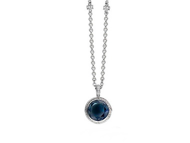 London Blue Crystal Pendant
