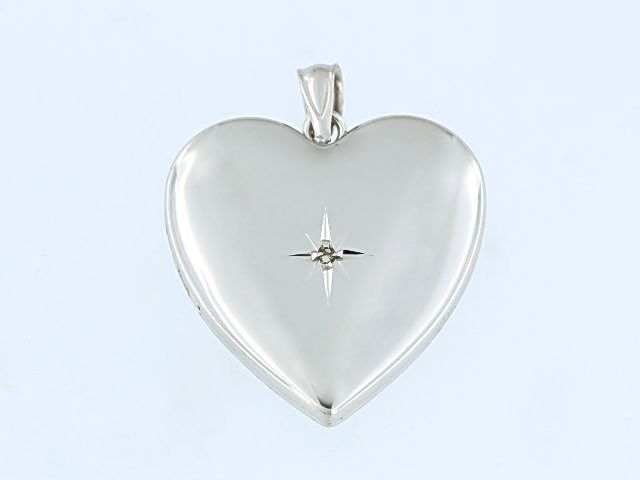 Heart Shaped Locket for Ashes