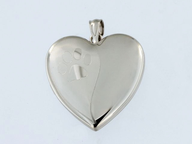 Silver Pet Locket