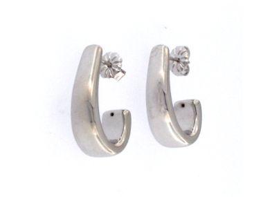 Silver J Style Earrings