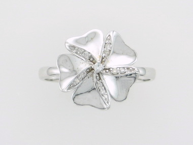 14KT Flower Ring
