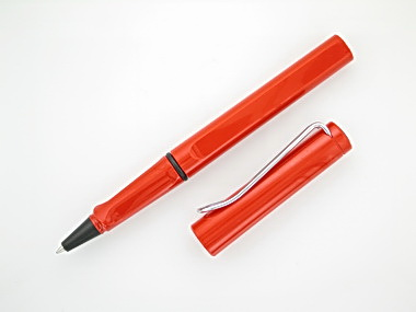 Red Lamy Rollerball