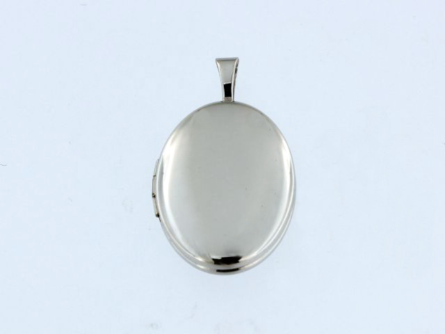 Engravable Silver Locket