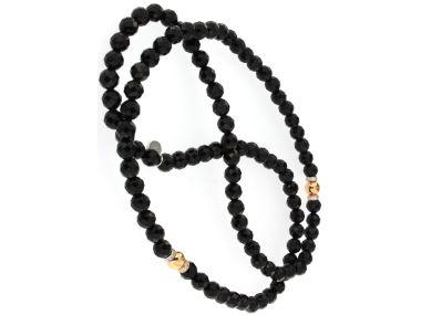 Onyx Bead Necklace