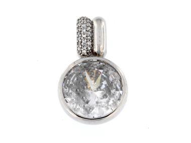 White Crystal Pendant