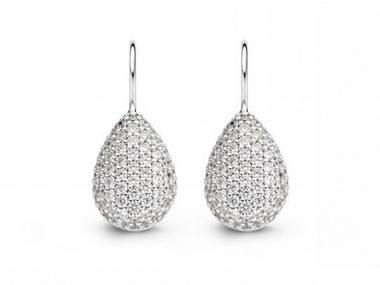 Cubic Pavee Earrings