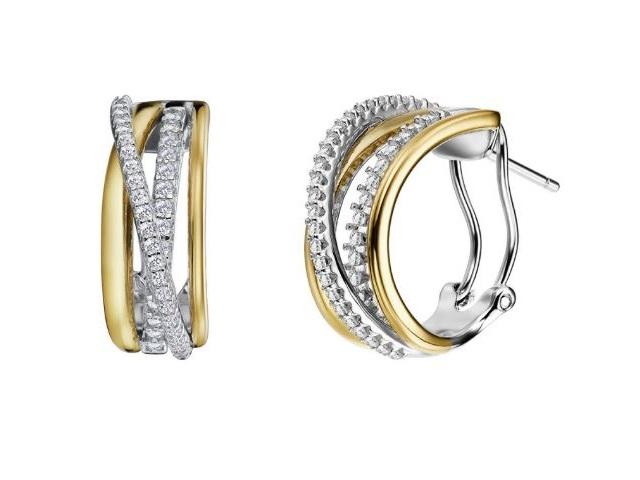 LaFonn Crossover Earrings