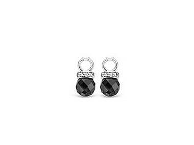 Onyx & Cubic Earring Charm