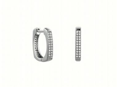 Cubic Huggies Earrings