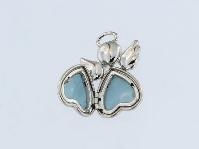 Silver Angel Locket