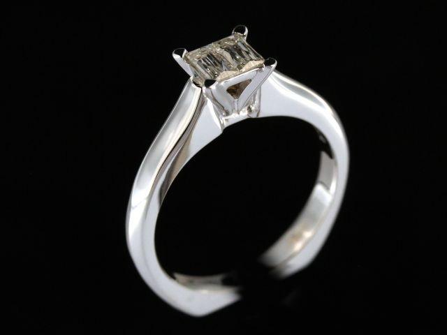 0.36 cts Mirage Duet Diamond Ring