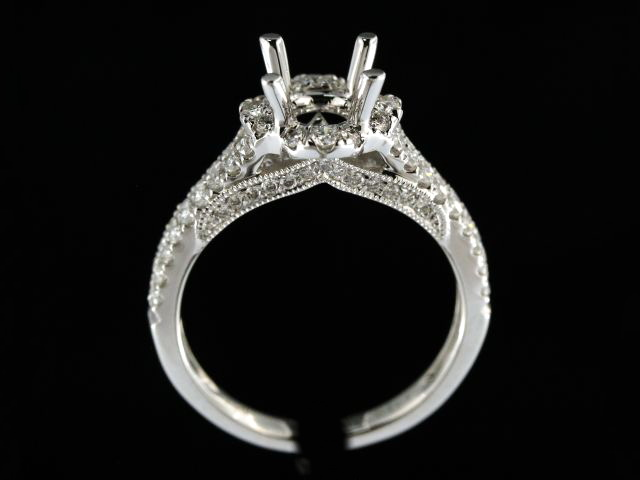 Diamond Engagement Ring Mount