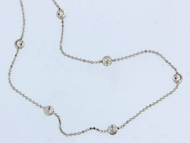 30 inch Silver Necklace